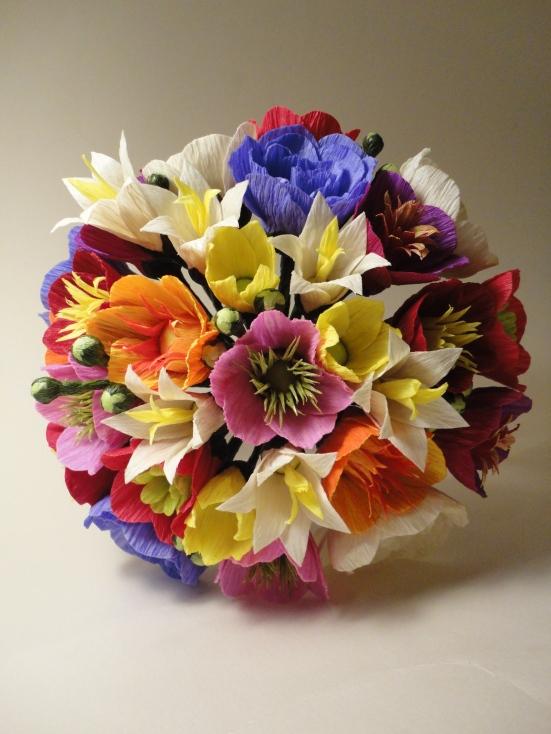 Buquê de Flores de Papel - Carmen Rein